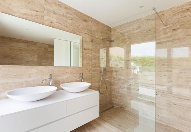 7 soorten wandafwerking voor badkamers