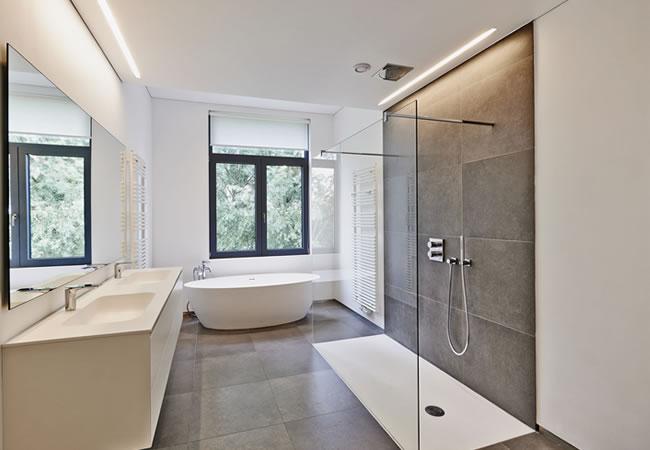 Moderne badkamers zonder bad kleine badkamer douche moderne