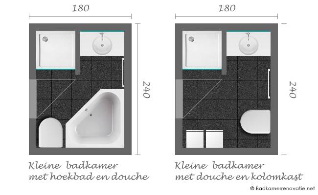 Kleine badkamer renoveren inrichten 12 tips foto 39 s for Planner badkamer